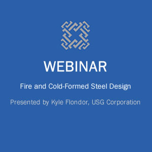 Webinar on Fire and Cold-Formed Steel Design course image