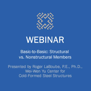 Webinar on Back-to-Basics: Structural vs Nonstructural Members course image